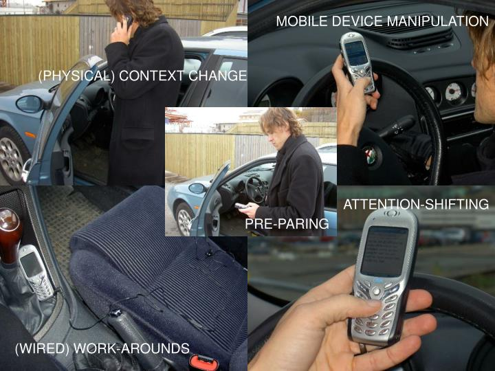 MOBILE DEVICE MANIPULATION
