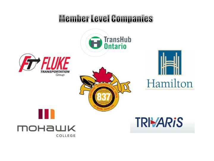 Member Level Companies