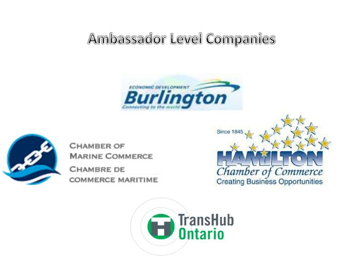 Ambassador Level Companies