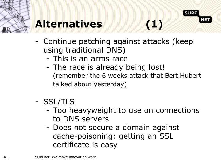 Alternatives(1)