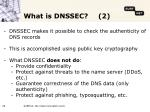 what is dnssec 2