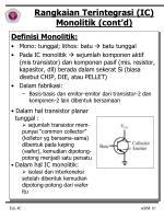 rangkaian terintegrasi ic monolitik cont d1