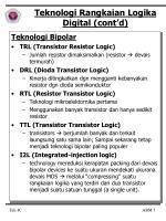 teknologi rangkaian logika digital cont d