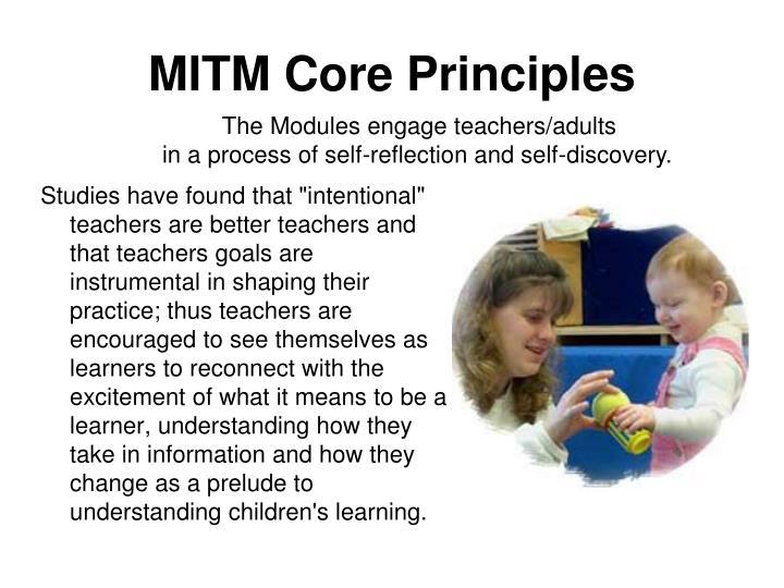 MITM Core Principles