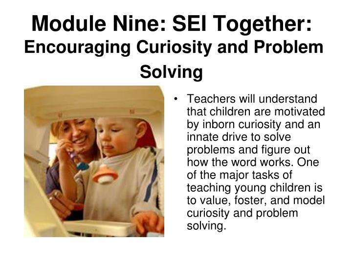 Module Nine: SEI Together: