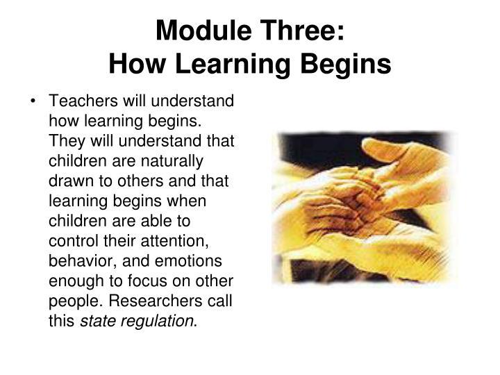 Module Three: