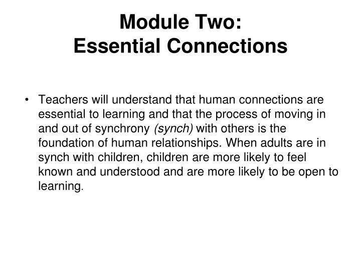 Module Two:
