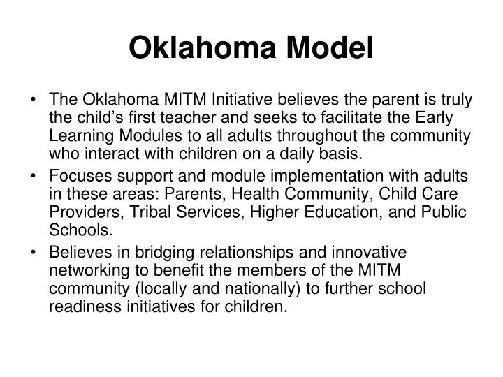 Oklahoma Model