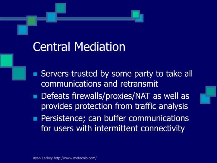 Central Mediation