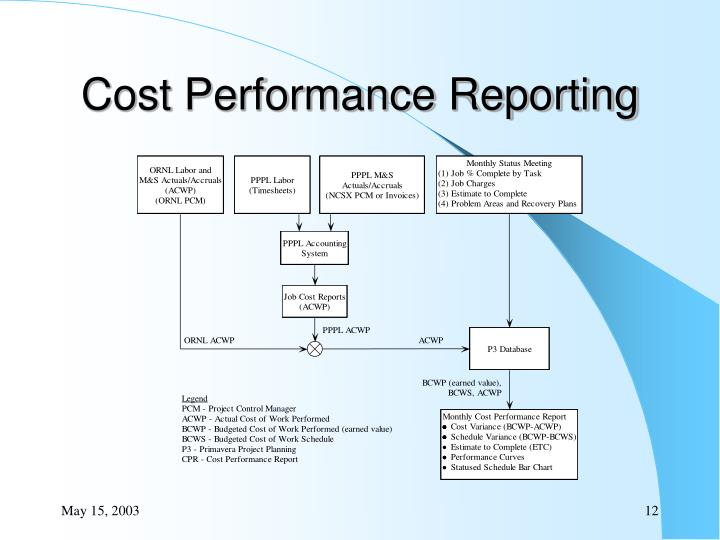 Cost Performance Reporting