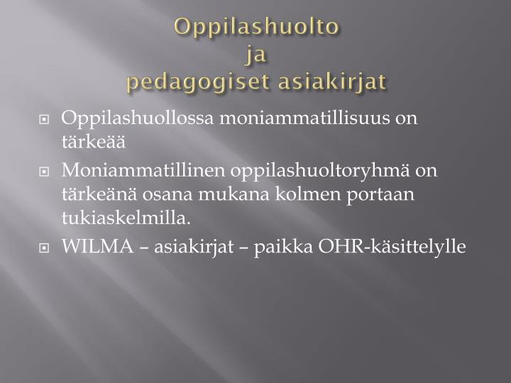 Oppilashuolto
