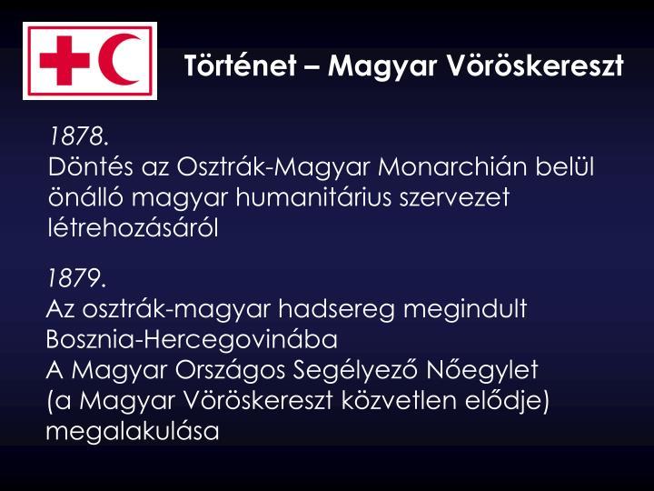 Történet – Magyar Vöröskereszt