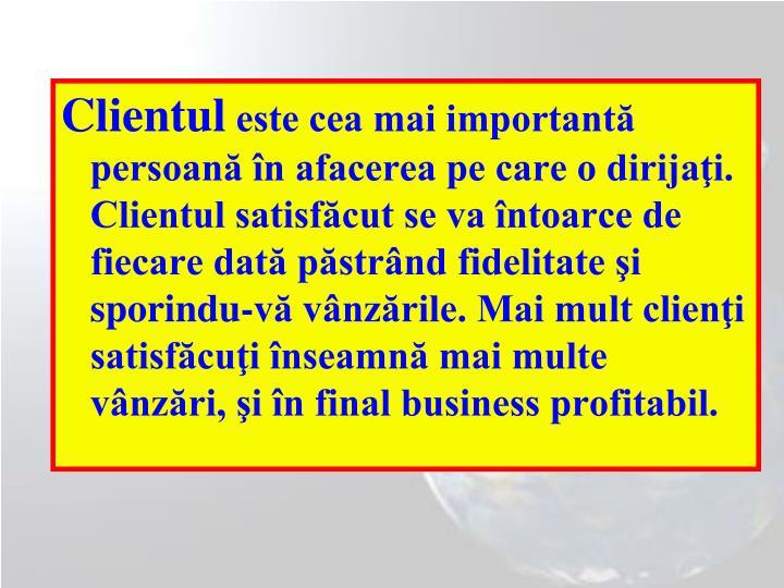 Clientul