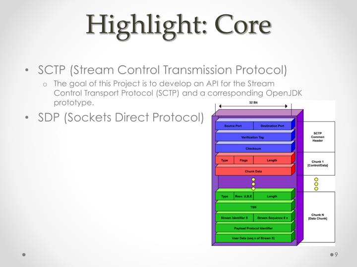 Highlight: Core