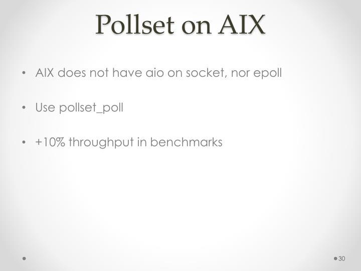Pollset on AIX
