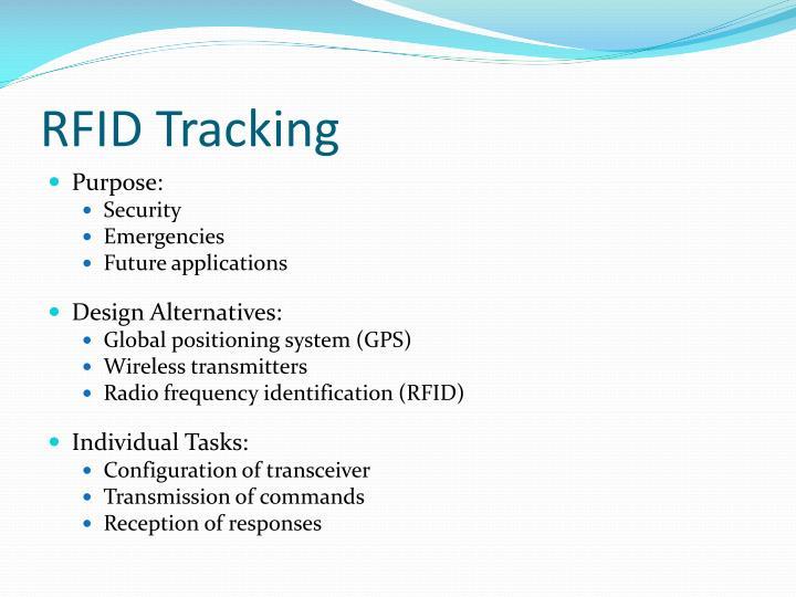 RFID Tracking
