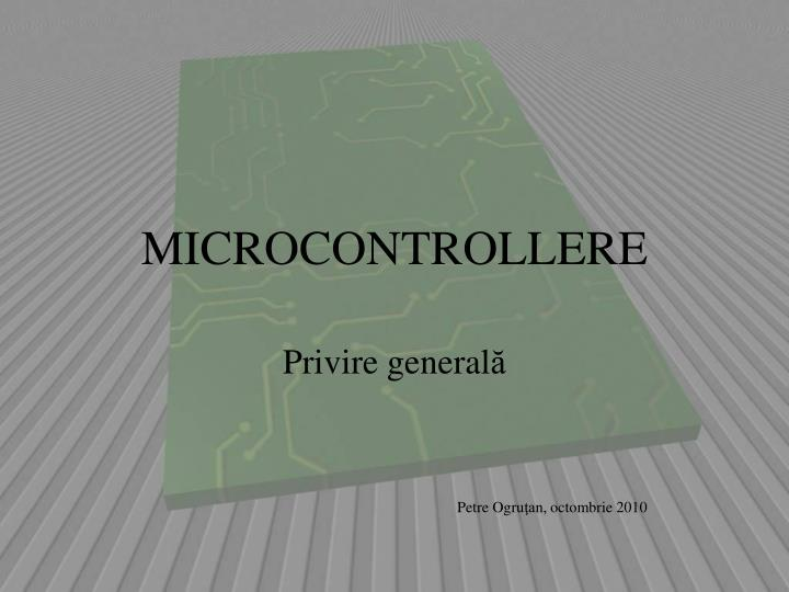 Microcontrollere