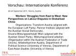 vorschau internationale konferenz