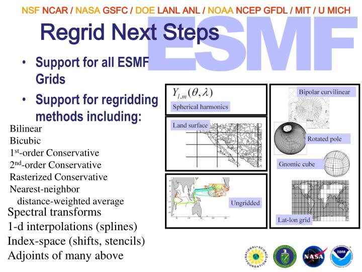 Regrid Next Steps