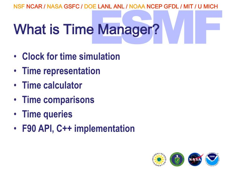 What is Time Manager?