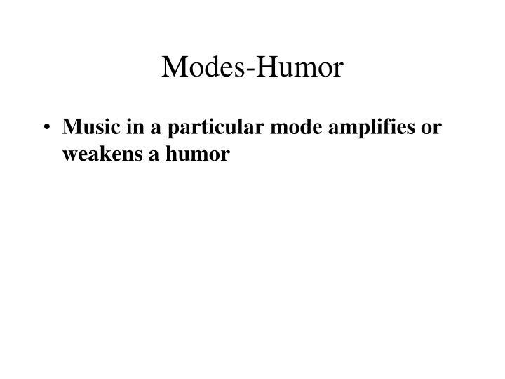 Modes-Humor