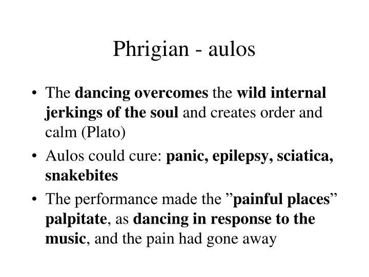 Phrigian - aulos