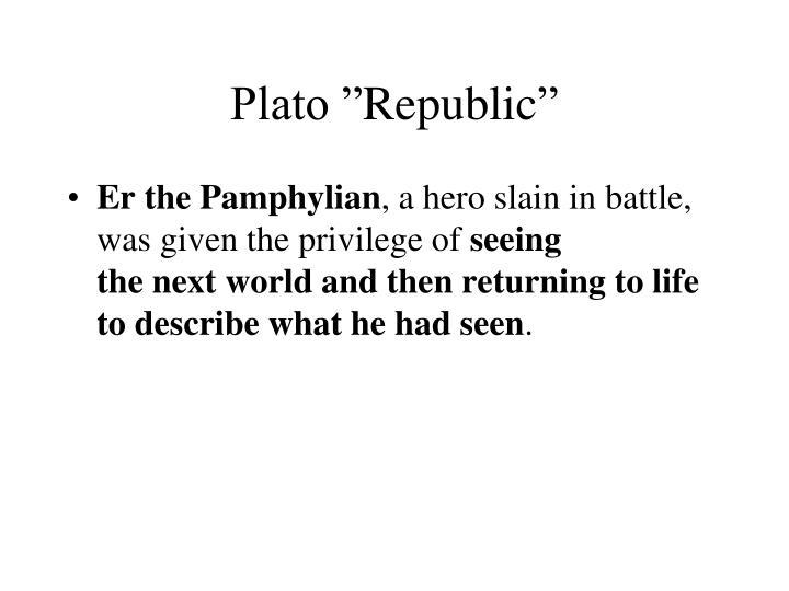"""Plato """""""