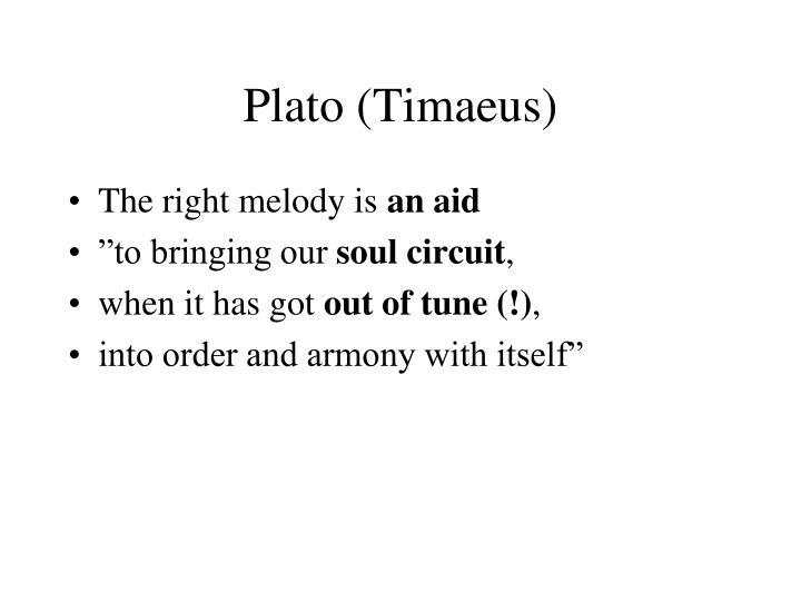 Plato (Timaeus)