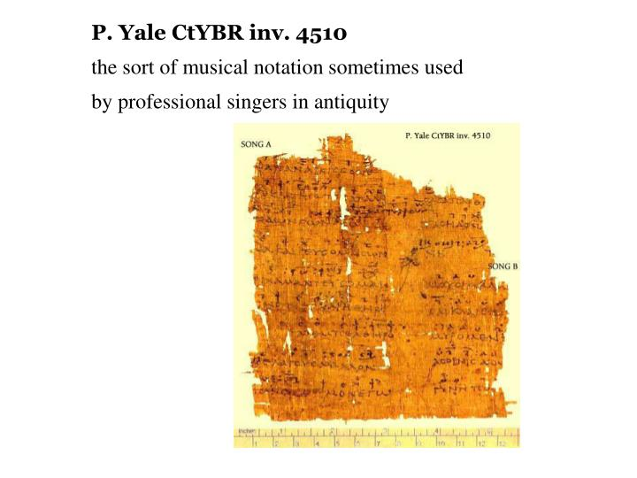 P. Yale CtYBR inv. 4510