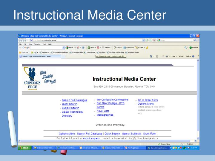 Instructional Media Center