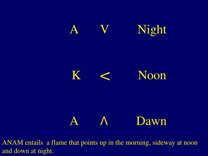 A       V         Night