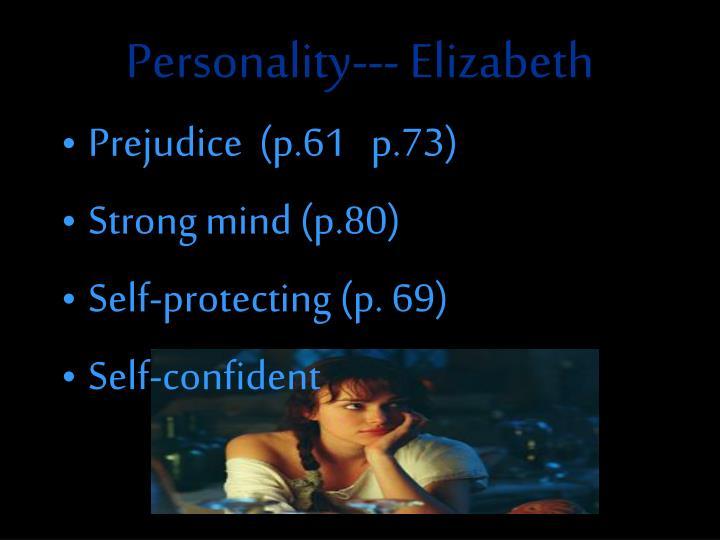 Personality--- Elizabeth