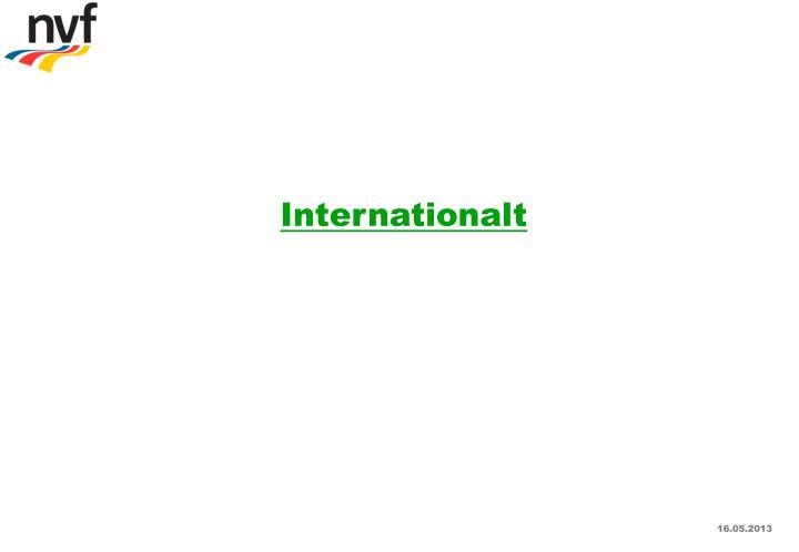 Internationalt