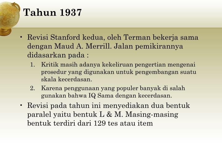Tahun 1937