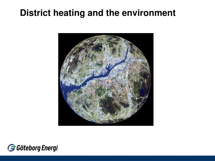 district heating and the environment