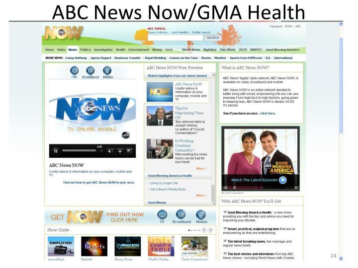 ABC News Now/GMA Health