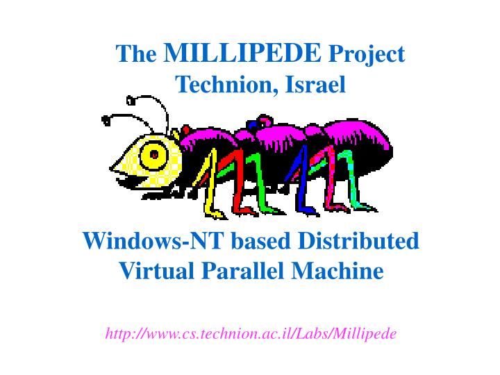 windows nt based distributed virtual parallel machine