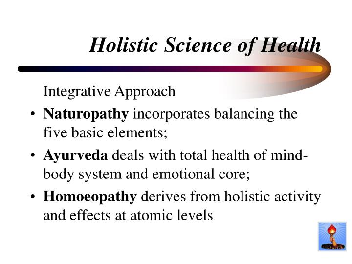 Holistic Science of Health