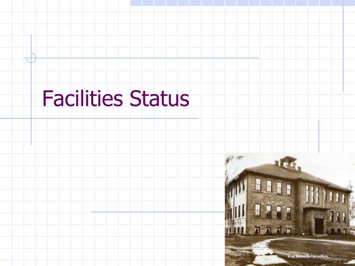 Facilities Status