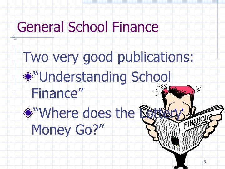 General School Finance