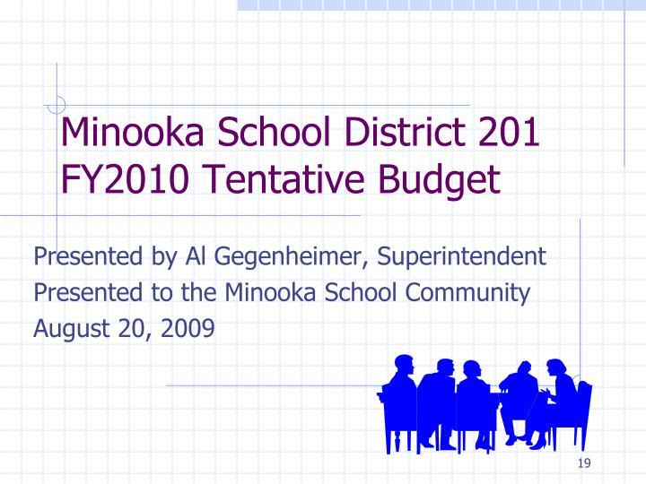 Minooka School District 201