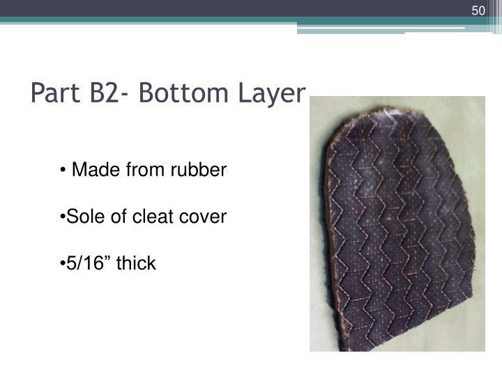 Part B2- Bottom Layer