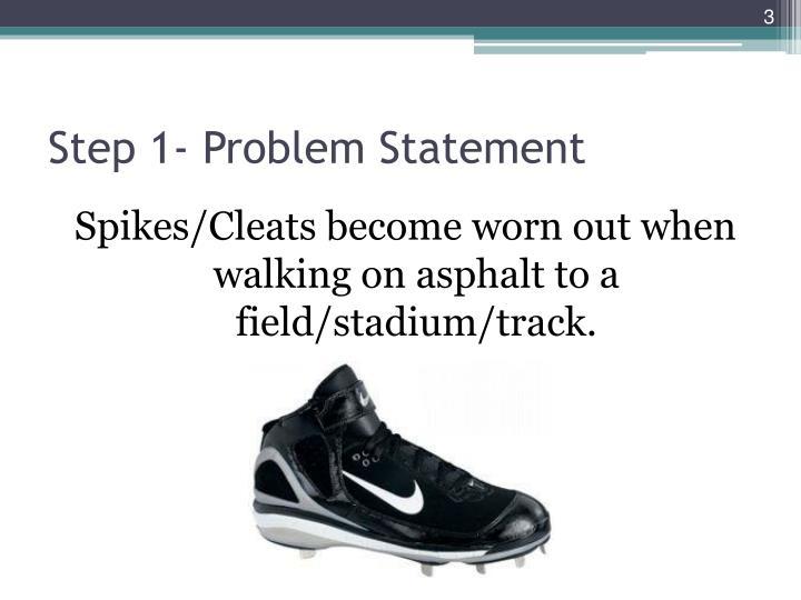 Step 1- Problem Statement