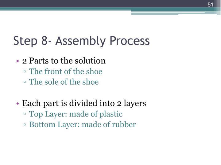 Step 8- Assembly Process