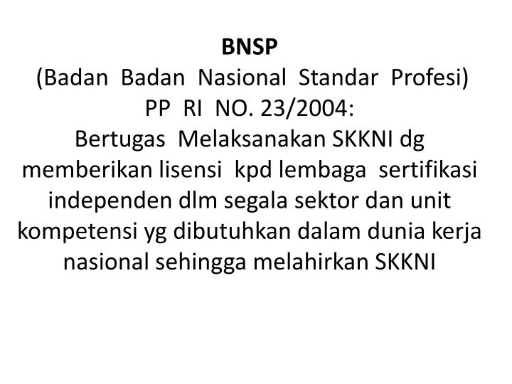 BNSP