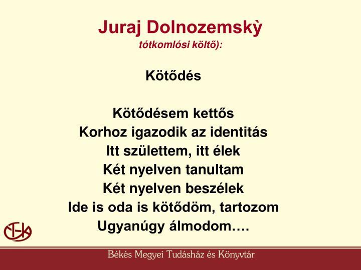 Juraj Dolnozemskỳ