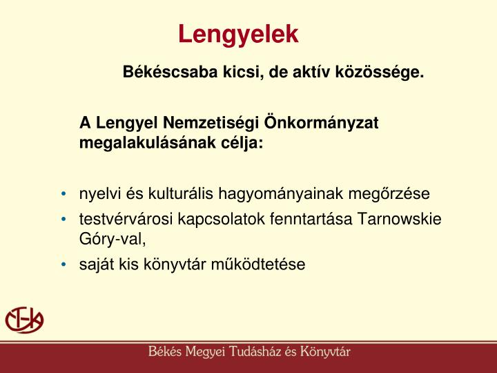 Lengyelek