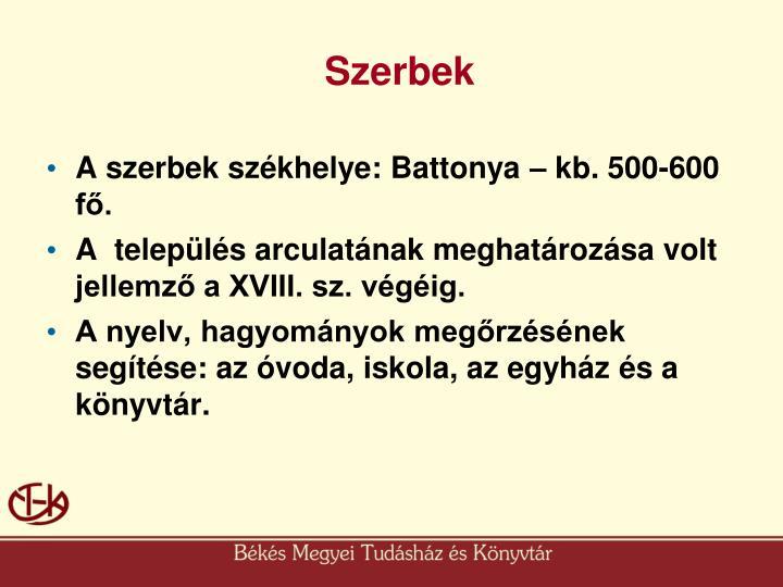 Szerbek
