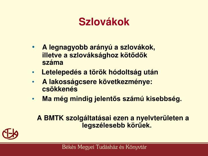 Szlovákok