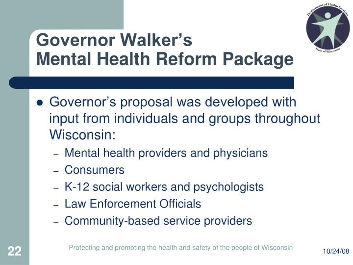 Governor Walker's